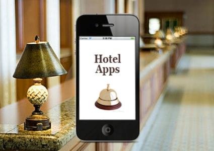 mobile app for hotel