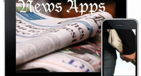 mobile apps for news sites